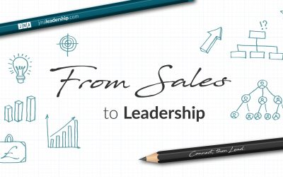 Why do salespeople find it hard to transition into leadership roles?